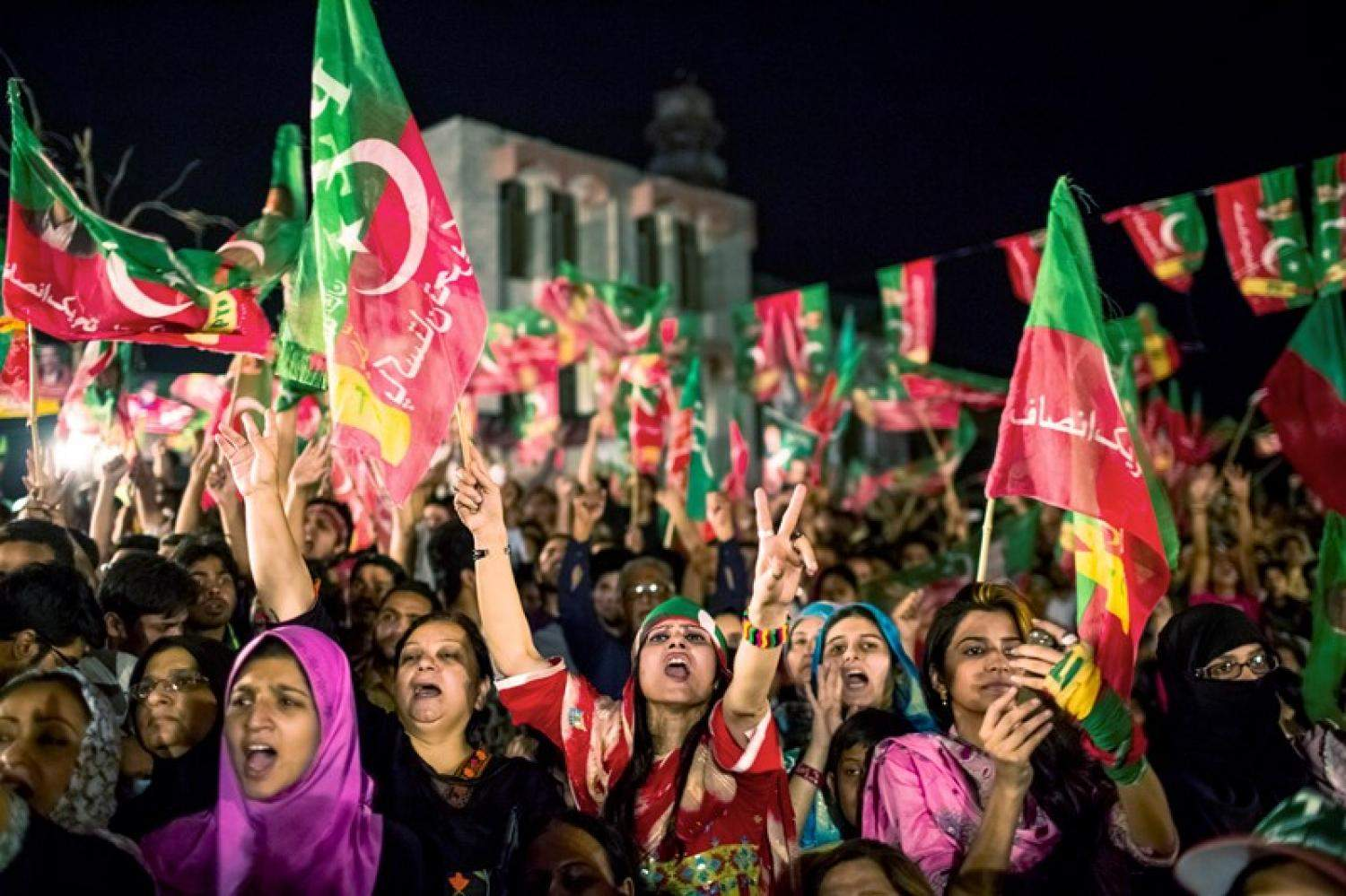election in pakistan Pakistan's ruling party became the largest group in the senate during a closed-door election on saturday, strengthening its hand before national polls in july despite legal set backs and corruption proceedings against its leader nawaz sharif.